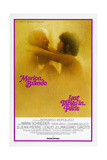 LAST TANGO IN PARIS, US poster, from left: Marlon Brando, Maria Schneider, US poster, 1972. Prints