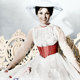 Mary Poppins, Julie Andrews, 1964 Foto