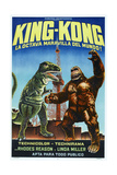KING KONG ESCAPES, (aka EL REGRESO DE KING-KONG), Argentinan poster, King Kong (right), 1967 Prints