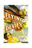 FLYING DEVILS, Arline Judge, 1933. Reprodukce