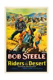 RIDERS OF THE DESERT, Bob Steele, Joe Dominguez, Gertrude Messinger, 1932 Prints