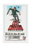LOST COMMAND, US poster, Anthony Quinn, 1966 Prints