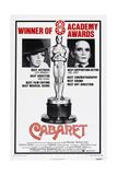 Cabaret, US poster, Liza Minnelli, Joel Grey, 1972 Art