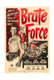BRUTE FORCE, Burt Lancaster, Yvonne De Carlo, 1947. Print