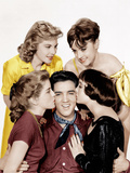 KING CREOLE, Elvis Presley (center) Photo