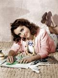 Elizabeth Taylor, ca. 1940s Prints