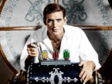 THE TIME MACHINE, Rod Taylor, 1960. Print