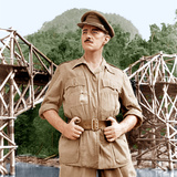 The Bridge on the River Kwai, Alec Guinness, 1957 Photo