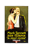 THE JOLLY JILTER, right: Ben Turpin, 1927 Posters