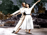THE BAND WAGON, from left: Fred Astaire, Cyd Charisse, 1953 Photo