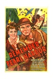 REMEMBER PEARL HARBOR, from left: Fay McKenzie, Donald M. Barry, 1942. Posters