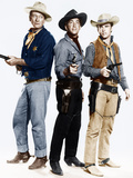 RIO BRAVO, from left: John Wayne, Dean Martin, Ricky Nelson, 1959 Posters