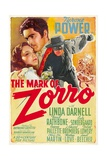 THE MARK OF ZORRO (aka LA MARCA DEL ZORRO) Prints