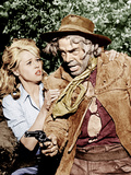 CAT BALLOU, from left: Jane Fonda, Lee Marvin, 1965 Print