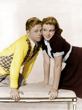 LOVE FINDS ANDY HARDY, from left: Mickey Rooney, Judy Garland, 1938 Posters