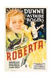 ROBERTA, Irene Dunne, Ginger Rogers, Fred Astaire, 1935 Art