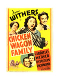 CHICKEN WAGON FAMILY Poster
