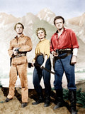 Shane, Alan Ladd, Jean Arthur, Van Heflin, 1953 Photo