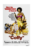 COFFY, US poster, Pam Grier, 1973 Kunstdrucke