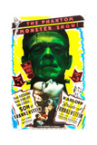 BRIDE OF FRANKENSTEIN/SON OF FRANKENSTEIN double feature poster featuring from top: Boris Karloff Prints