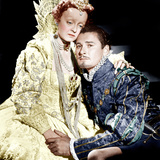 THE PRIVATE LIVES OF ELIZABETH AND ESSEX, from left: Bette Davis as Queen Elizabeth I, Errol Flynn Posters