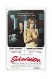 SUBMISSION, (aka SCANDALO), US poster, Franco Nero, Lisa Gastoni, 1976 Poster