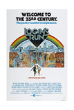 LOGAN'S RUN, US poster, bottom from left: Michael York, Jenny Agutter, 1976 Prints