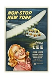 NON-STOP NEW YORK, bottom: Anna Lee, 1937. Prints