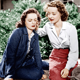 DARK VICTORY, from left: Geraldine Fitzgerald, Bette Davis, 1939 Prints
