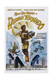 THE HUMAN TORNADO, US poster, Rudy Ray Moore, 1976 Plakater