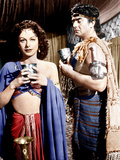 SAMSON AND DELILAH, from left: Hedy Lamarr, Victor Mature, 1949 Prints