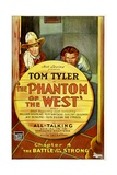 PHANTOM OF THE WEST, left: Tom Tyler in 'Chapter 4: The Battle of the Strong', 1931. Prints