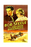 THE NEVADA BUCKAROO, from left: Bob Steele, Dorothy Dix, 1931 Prints