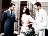 THE PHILADELPHIA STORY, from left: Cary Grant, Katharine Hepburn, James Stewart, 1940 Photo