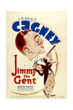 JIMMY THE GENT, James Cagney, 1934 Poster