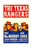 THE TEXAS RANGERS, Fred MacMurray, Jean Parker, Jack Oakie, 1936 Poster