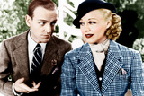 TOP HAT, from left: Fred Astaire, Ginger Rogers, 1935 Poster