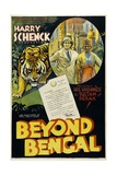 BEYOND BENGAL, 1934. Posters