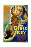 The Glass Key, William Bendix, Veronica Lake, Brian Donlevy, Alan Ladd, 1942 Prints