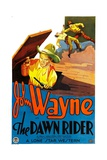 THE DAWN RIDER, left: John Wayne, 1935. Print