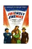 FRIENDLY ENEMIES, from left: Charles Winninger, James Craig, Nancy Kelly, Charlie Ruggles, 1942. Posters
