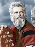 The Ten Commandment's, Charlton Heston, 1956 Photo