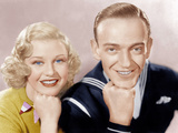 FOLLOW THE FLEET, from left: Ginger Rogers, Fred Astaire, 1936 Prints