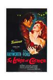 THE LOVES OF CARMEN, (aka LOS AMANTES DE CARMEN), from left: Glenn Ford, Rita Hayworth, 1948 Umění