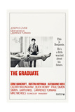 THE GRADUATE, US poster, Dustin Hoffman, 1967 Art