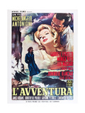 L'AVVENTURA, Monica Vitti, Gabriele Ferzetti, 1960 Prints