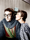 THE MOUSE THAT ROARED, from left: Peter Sellers, Jean Seberg, 1959 Photo