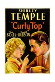 CURLY TOP, Shirley Temple, John Boles, 1935, instructing father Posters