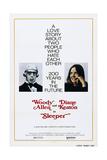 SLEEPER, US poster, Woody Allen, Diane Keaton, 1973, - Poster