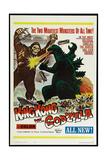 KING KONG VS. GODZILLA (aka KINGU KONGU TAI GOJIRA), US poster, King Kong, Godzilla, 1962 Prints